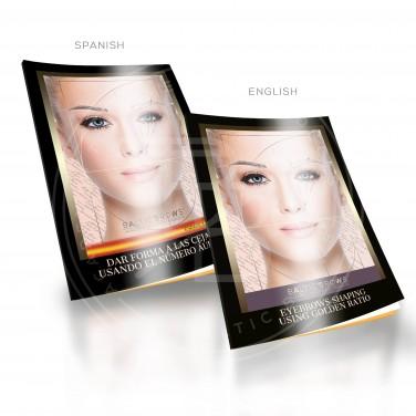 Eyebrows shaping using Golden Ratio
