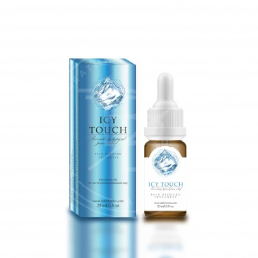"Secondary topical pain relief ""Icy touch"""