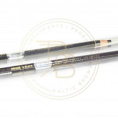 Waterproof eyebrow and eyeliner pencil